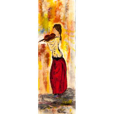 Violon elle - Evelyn Losier