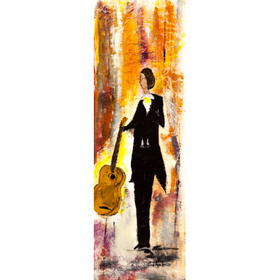 À la guitare - Evelyn Losier