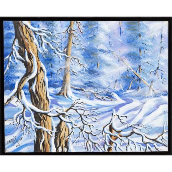 Bourrasque de neige - Denis Guyon